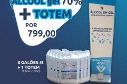 Promotion Alcohol gel 70% + Totem