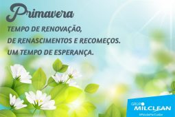 (Português do Brasil) Bem-vinda Primavera!