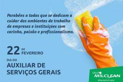 (Português do Brasil) DIA DO AUXILIAR DE SERVIÇOS GERAIS